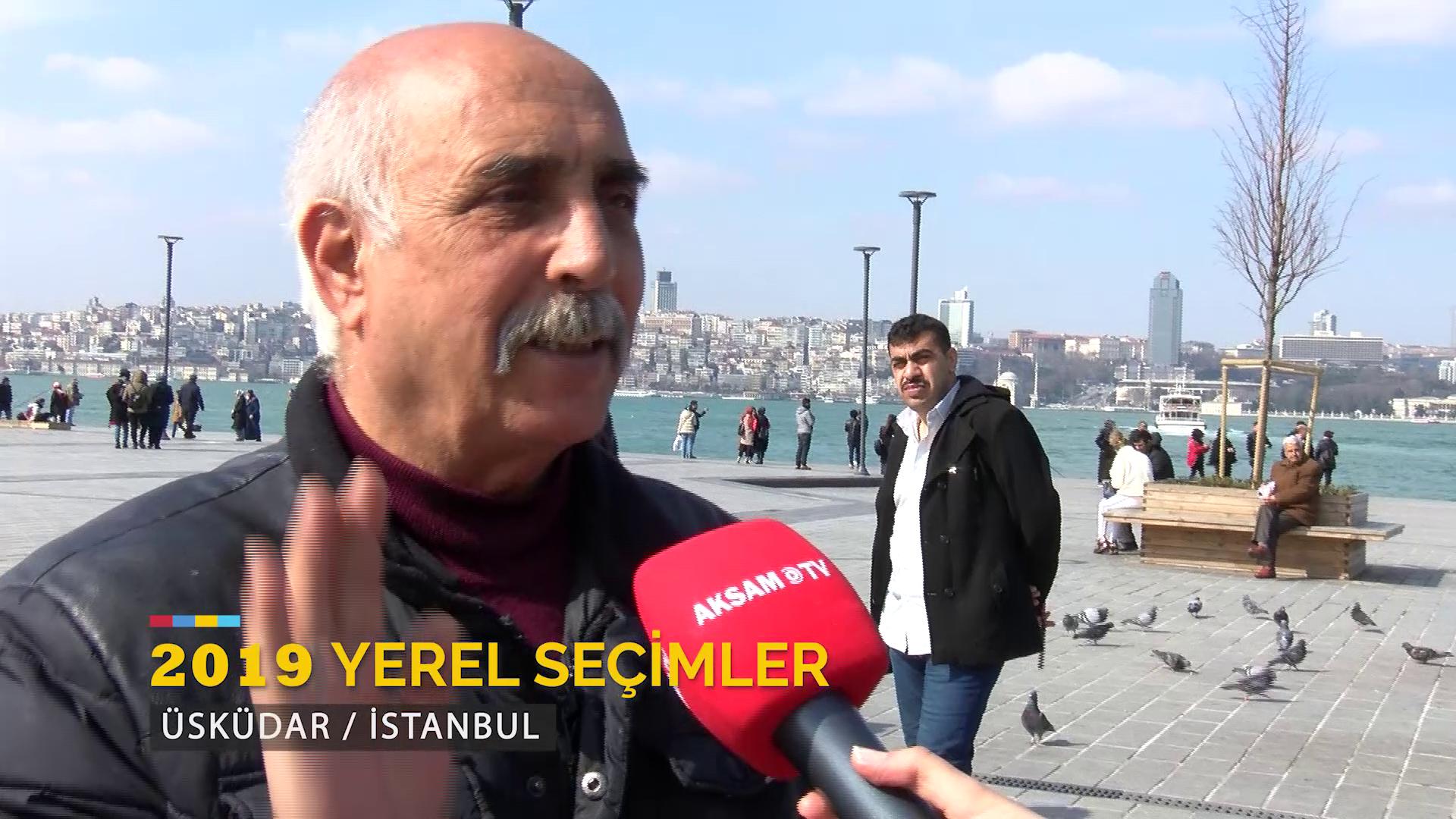 Akşam TV Yerel Seçim Öncesi Üsküdar'da Halkın Nabzını Tuttu