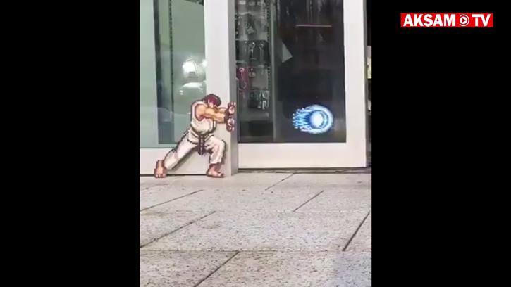 Aduket! Street Fighter'ı Bir De Kayar Kapıda Oynamayı Deneyin