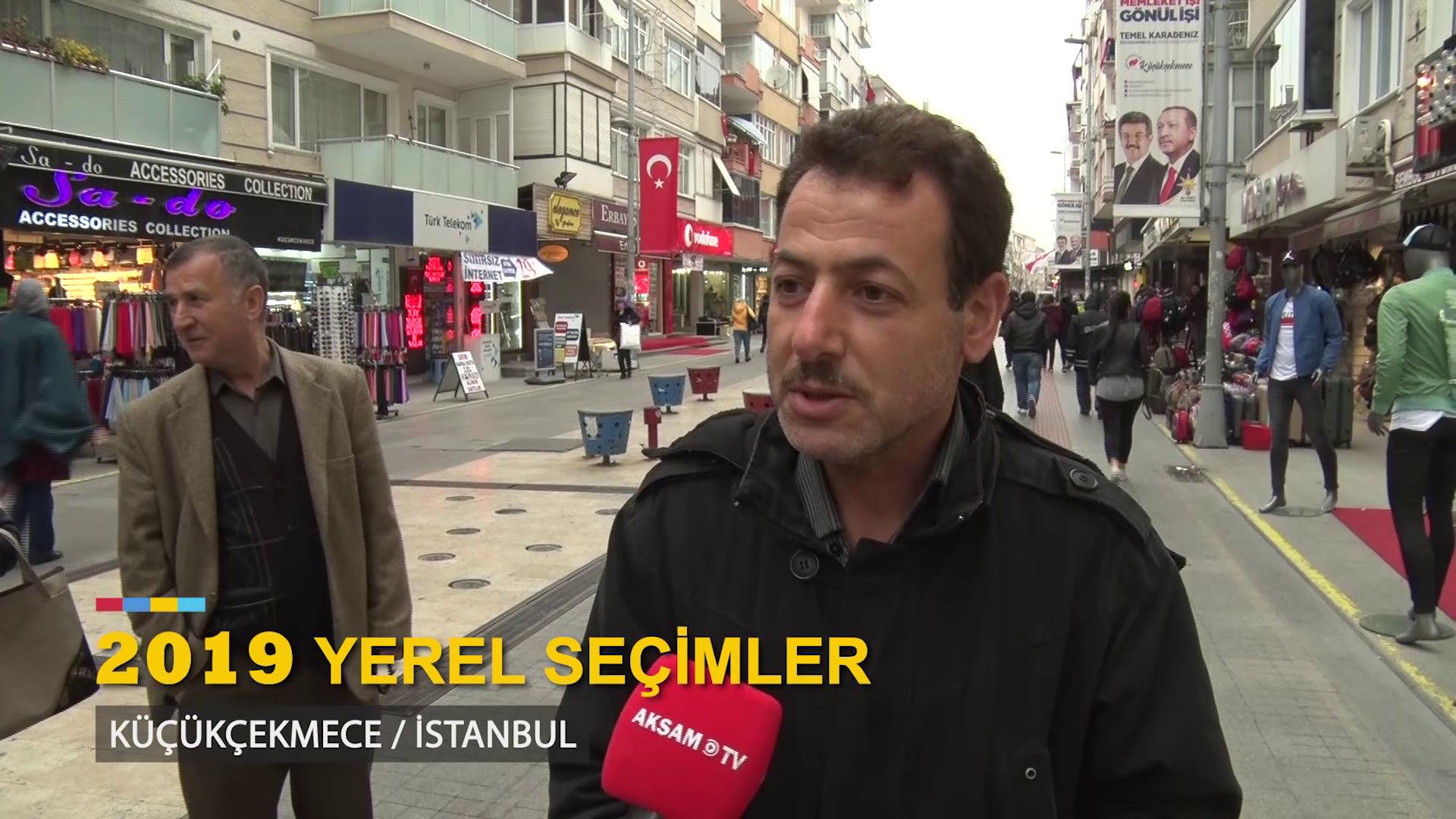 Akşam TV Yerel Seçim Öncesi Küçükçekmece'de Halkın Nabzını Tuttu