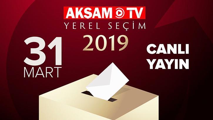 31 Mart Yerel Seçimlerini Akşam TV'den Takip Edin