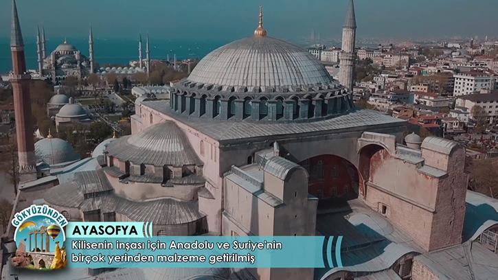 Dünya Mimarlık Tarihine Damga Vuran Yapı: Ayasofya'nın Tarihi