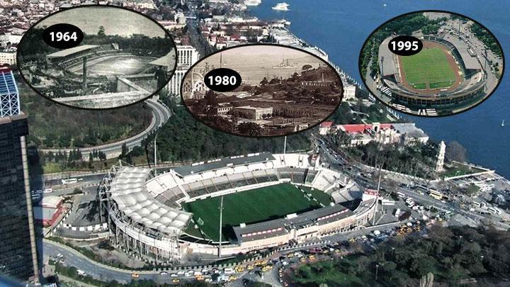 Beşiktaş'tan İnönü Stadı'na veda!