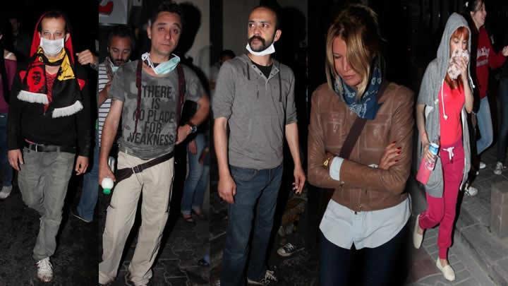 Ünlülerden Gezi Parkı direnişine destek sürüyor...