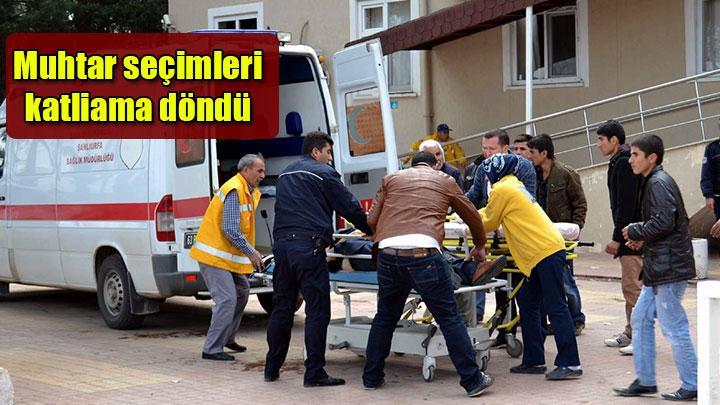 Seçim kavgası: 8 ölü 72 yaralı