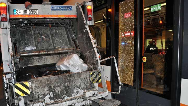 Eskişehir'de tramvay kazası