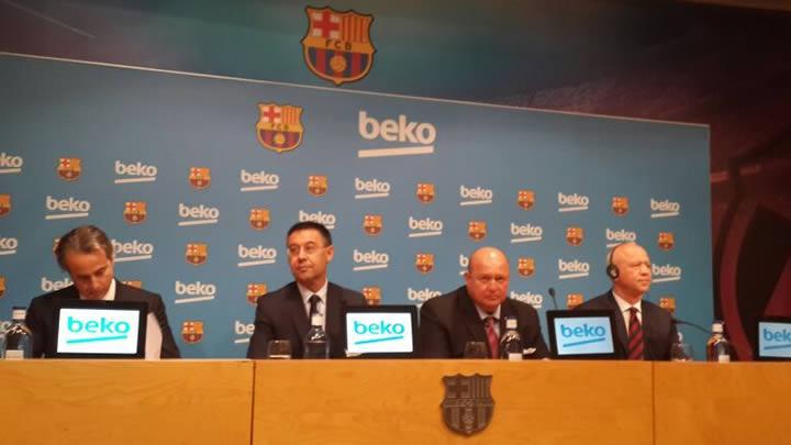 Beko ve Barça 4 yıllığına 'kol kola'