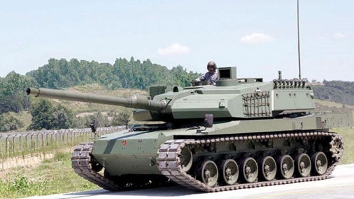Milli Tank Altay A Tumosan Motoru
