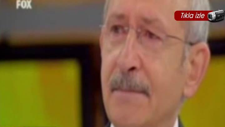 Kılıçdaroğlu gözyaşlarını tutamadı