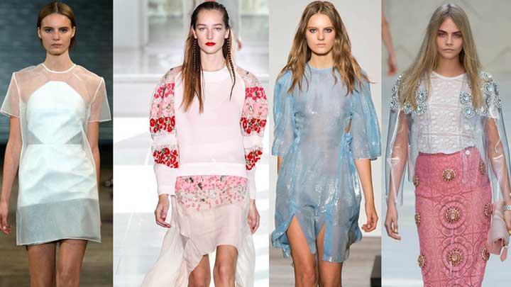 Londra moda haftasında dikkat çekenler