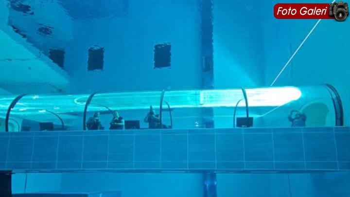 İşte Dünyanın en derin havuzu!