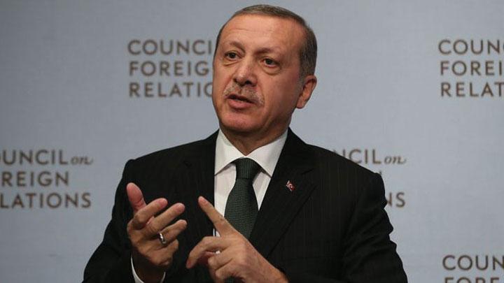 Erdoğan New York'ta konuştu