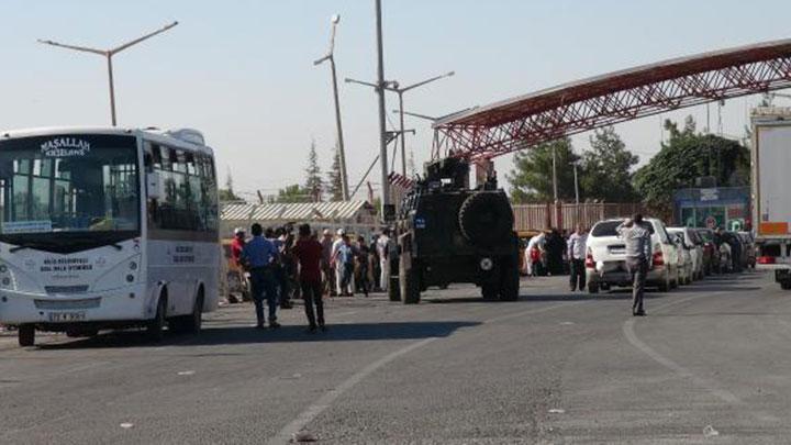 Kilis'te askeri hareketlilik