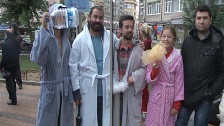 Kadıköy'de su kuyruğu ve protesto