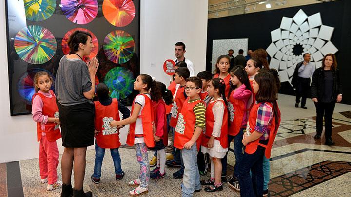 Ülker Çocuk Sanat Atölyesi, 1000'e yakın çocuğu sanat ile buluşturdu