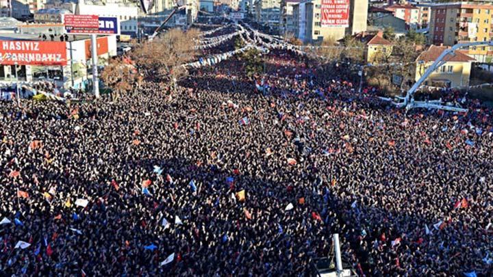 AK Parti'nin ilk mitingi Erzurum'da yapılacak