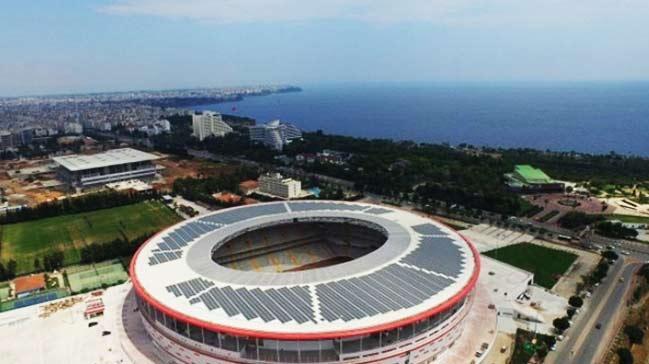 Antalya Arena dünyada bir ilki başardı!