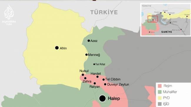 Türkiye PYD'yi vurdu Ruslar çıldırdı