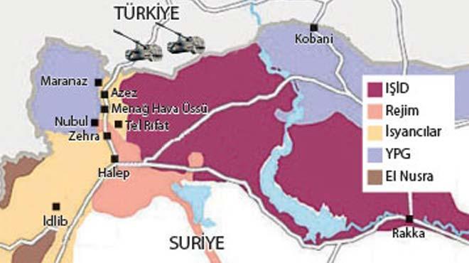 Tel Rıfat'ın % 70'i YPG'nin eline geçti