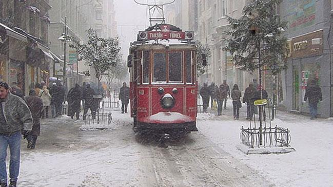 İstanbul'da kar fırtınası bekleniyor