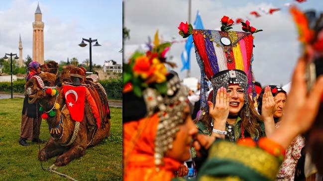 Antalya'da 3'üncü Yörük Festivali Göç Duası ile başladı