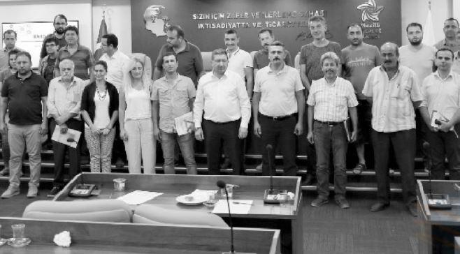 Nazilli Ticaret Odası üyeleri TKDK yetkilileriyle buluştu