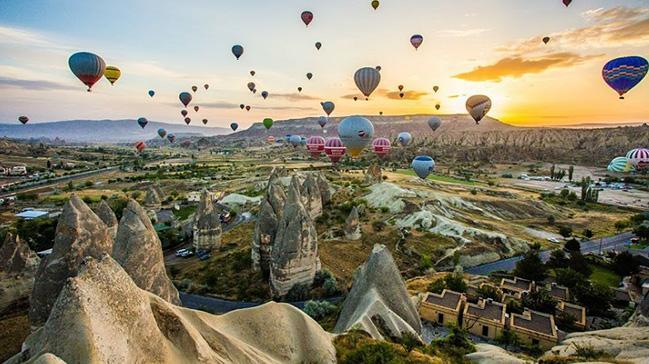 Kapadokya'da yerli balon üretimine başlandı