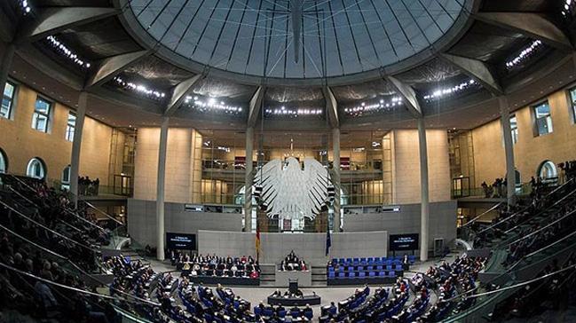 Alman Federal Meclisindeki terör propagandasına tepki