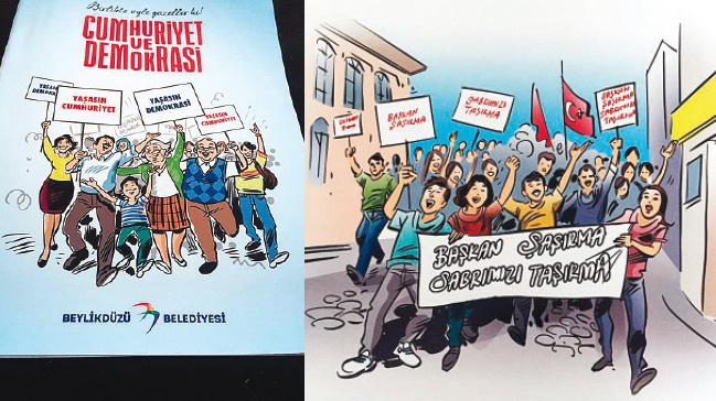 CHP'nin demokrasi kitabında provokasyon eğitimi!