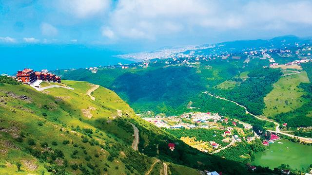 Trabzon'un yeni çekim merkezi Sera Gölü...