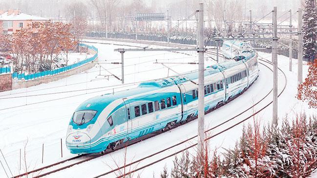 Karlı dağları hızlı trenler birbirine bağlayacak