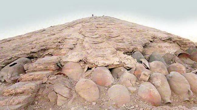 Şeyh Süleyman Mescidi'nde 1700 yıllık olduğu tahmin edilen 'pagan mezarı' ortaya çıktı