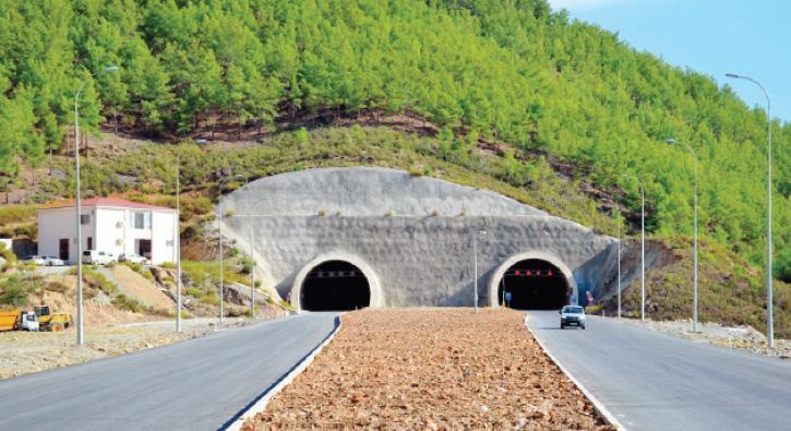 Akdeniz sahil yolu tünellerle geçilecek