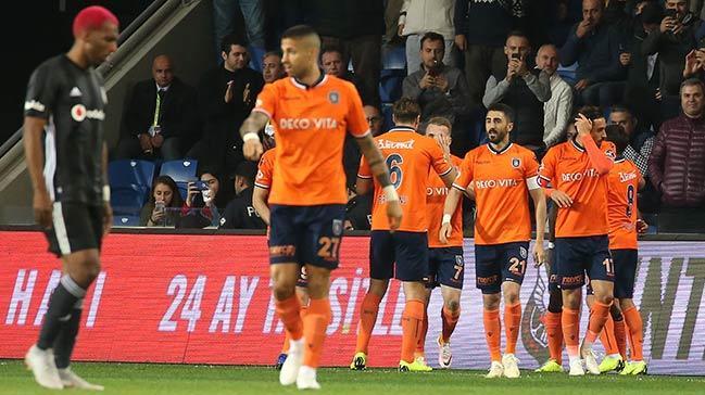Başakşehir sahasında Beşiktaş'ı 1-0 mağlup etti