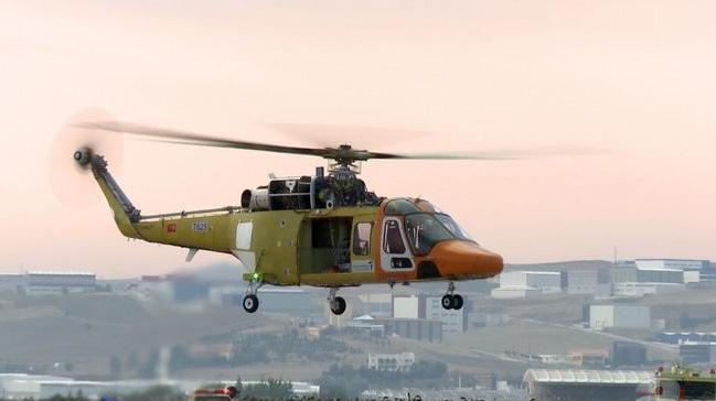 T625'te ikinci test helikopterinin yıl sonunda uçurulması planlanıyor
