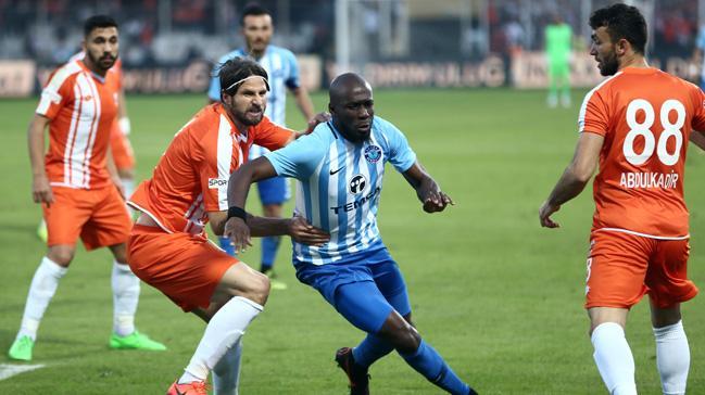 Adana derbisinde Adana Demirspor ile Adanaspor 1-1 berabere kaldı