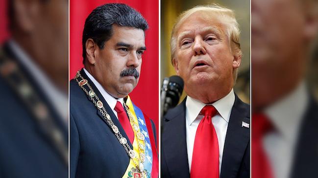 Venezuela lideri Maduro Trump'ı Hitler'e benzetti