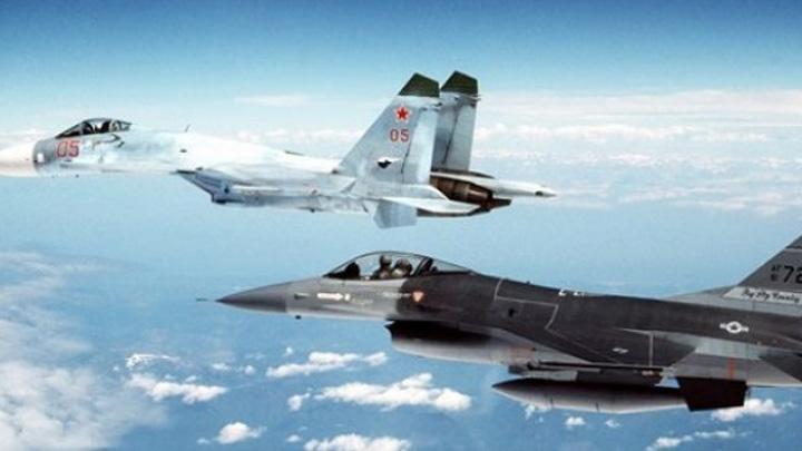 ABD savaş uçakları Rusya ve Ukrayna arasındaki gerilime doğrudan müdahil oldu