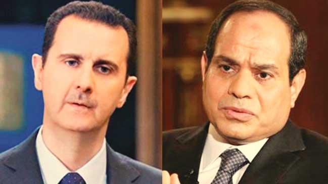 Sisi, Esad'ı geri çağırdı