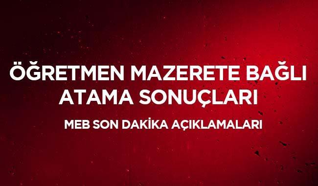 """Özür grubu 2019 atama sonuçları açıklandı mı"""" MEBBİS öğretmen giriş"""