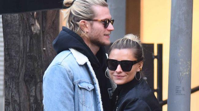 Beşiktaşlı futbolcu Karius model sevgilisi Sophia Thomalla ile barıştı
