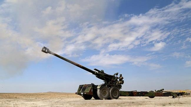 Milli Savunma Bakanlığı: Teröristlerin taciz ateşlerine karşılık verilmiştir