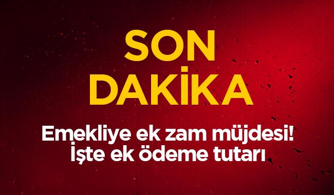 """2019 SSK Bağkur emekli maaşı ek zam ne kadar"""" Emekli ek ödeme oranı tavan taban maaşları kaç TL"""""""