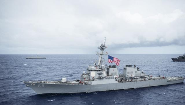ABD savaş gemileri, Çin gerilimi sırasında Tayvan Boğazı'ndan geçti