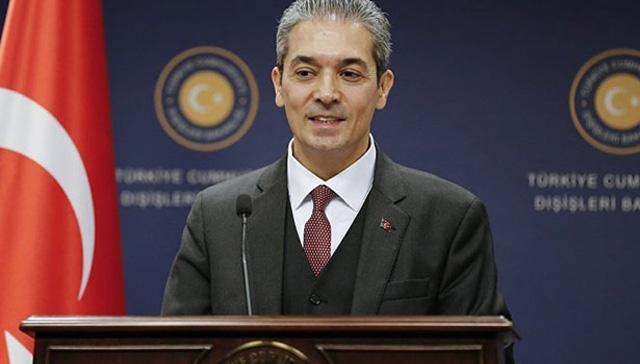Son Dakika Haberi... Dışişleri Bakanlığı Sözcüsü Aksoy'dan 'Prespa Anlaşması' açıklaması