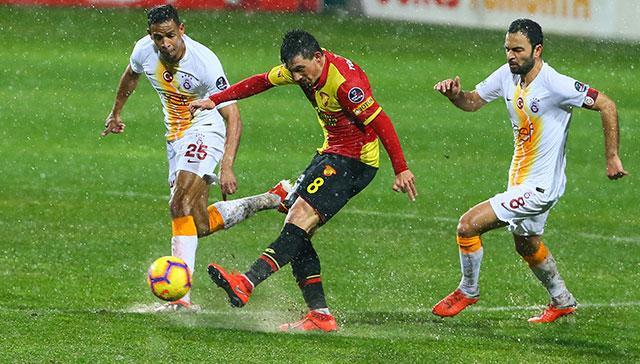 Galatasaray deplasmanda Göztepe'yi 1-0 mağlup etti