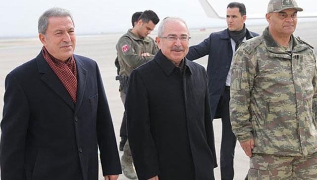 Milli Savunma Bakanı Hulusi Akar Mardin'de