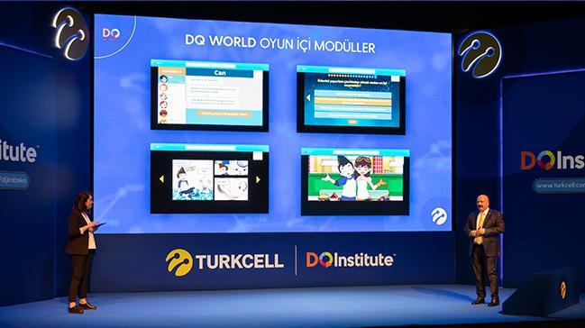 Turkcell çocukları dijital dünyaya 'Dijital Zeka DQ' ile hazırlayacak