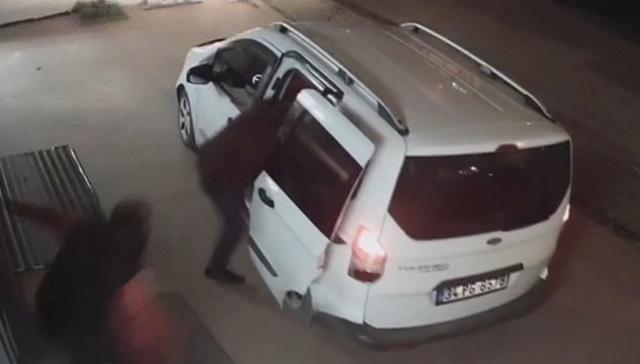 İstanbul Pendik'te hırsızlara turşu bidonlu müdahale