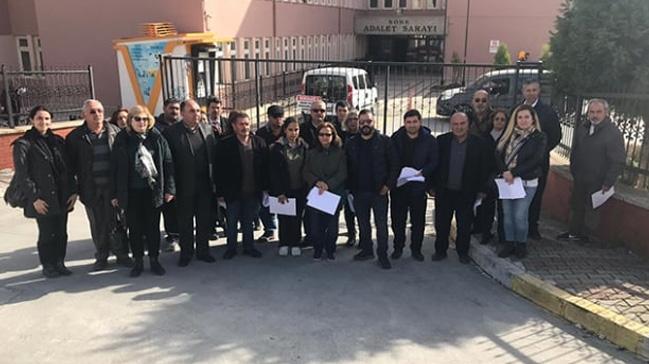 CHP Söke ilçe teşkilatına üye 35 kişi daha partilerinden istifa etti