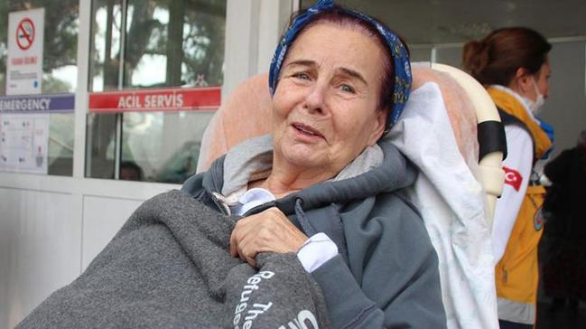 Fatma Girik, sağlık kontrolü için tekrar hastanede